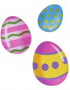 6 decorazioni di cartone uova di Pasqua