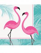 16 tovaglioli di carta fenicottero rosa