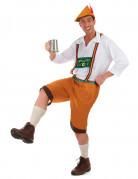 Costume marrone da bavarese per adulto