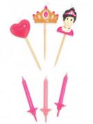 Candeline di compleanno principesse