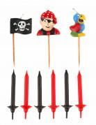 15 candeline di compleanno pirata