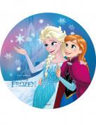 Disco di ostia con principesse Frozen™ 20 cm