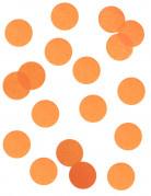 Coriandoli da lanciare di carta arancione