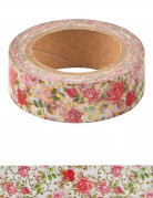 Washi tape floreale shabby chic