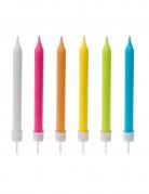 10 candeline multicolor