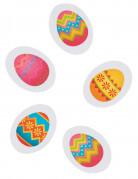 Coriandoli da tavola in carta uova di Pasqua