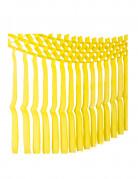 Ghirlanda con frange gialla