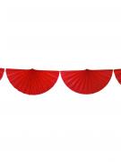 Ghirlanda di ventagli rossi