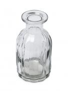Vaso di vetro decorativo