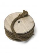 Bobina in legno con corda