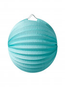 Lanterna a sfera color menta 20 cm
