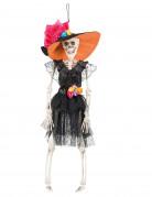 Decorazione da appendere sposa messicana Dia de los muertos