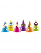 6 cappellini da festa piccoli mostri