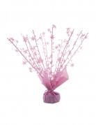 Peso per palloncini ad elio stelle rosa