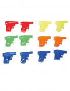 12 Mini pistole ad acqua 6 cm