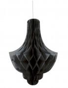 Decorazione alveolata a candeliere nera