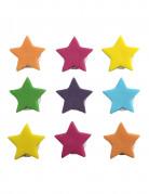 9 decorazioni per torte stelle di zucchero
