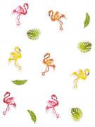Coriandoli da tavola fenicotteri rosa tropical