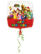 Palloncino alluminio Happy Birthday Mario Bros™