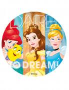 Disco di zucchero colorato Principesse Disney™