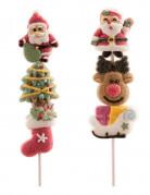 Spiedino di 3 caramelle natalizie