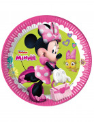 8 piatti di cartone Minnie Happy™ 23 cm