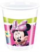 8 bicchieri di plastica Minnie Happy™