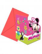 6 inviti di compleanno con buste Minnie Happy™