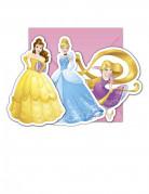 6 inviti di compleanno con buste Principesse Disney™