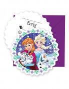 6 inviti con relative buste Frozen™
