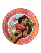 8 piattini di carta Elena di Avalor™ 20 cm
