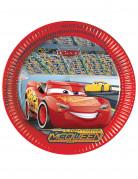 8 piatti in cartone Cars 3™ 23 cm