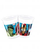 8 bicchieri di plastica Avengers Mighty™