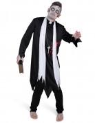 Costume da prete zombie adulto