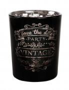 Portacandele nero vintage