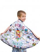 Mantello da colorare astronave bambino