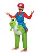 Costume gonfiabile Mario Yoshi Nintendo™ per bambino
