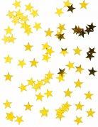 Coriandoli stelle metallizzate dorate