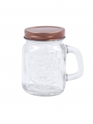 4 mini boccali di vetro