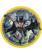 8 piatti in cartone Batman™ 23 cm