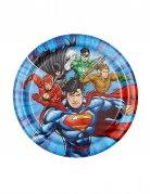 8 piattini Justice League™ 18 cm
