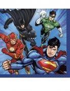 16 tovagliolini di carta Justice League™
