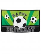Banner Happy Birthday Football party