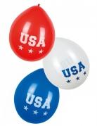 6 palloncini USA 25 cm