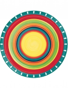 8 Piatti in cartone Messico 22 cm