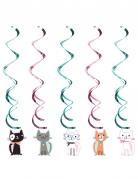 5 decorazioni da appendere gattini vintage