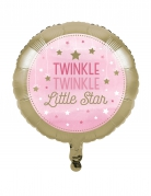 Palloncino in alluminio Little star rosa