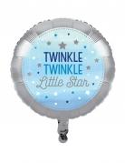 Palloncino alluminio Little Star blu