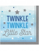 16 tovaglioli little star blu