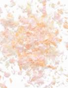 Mini sacchetto di coriandoli di carta ignifuga toni neutri 50 gr